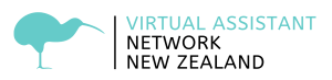 Virtual Assistant Network New Zealand - Main Colour Logo